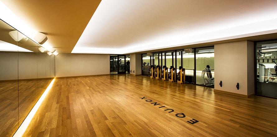 Lincoln Park Gym Fitness Club In Chicago With Yoga Studios