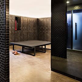 Equinox Locker Room Amenities