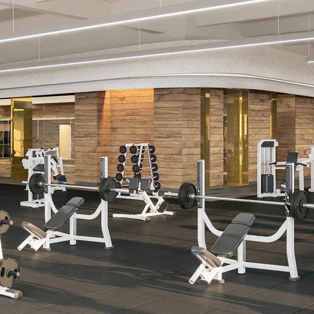 Miracle Mile Apartments: Miracle Mile Gym On Wilshire Blvd
