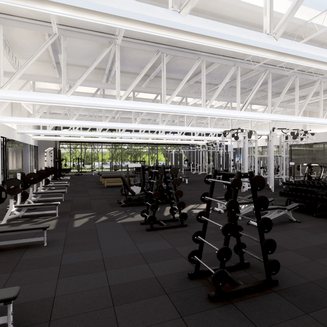 Fitness clubs for 3000 sq ft gym layout