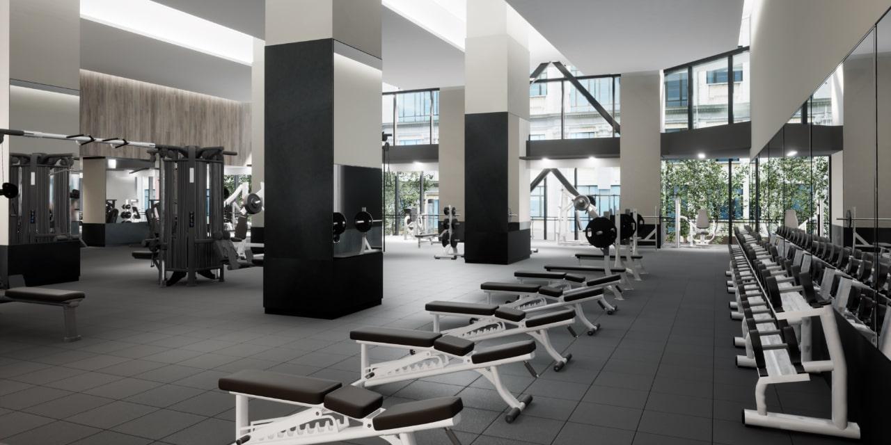 Anthem row fitness club luxury gyms in vienna va equinox